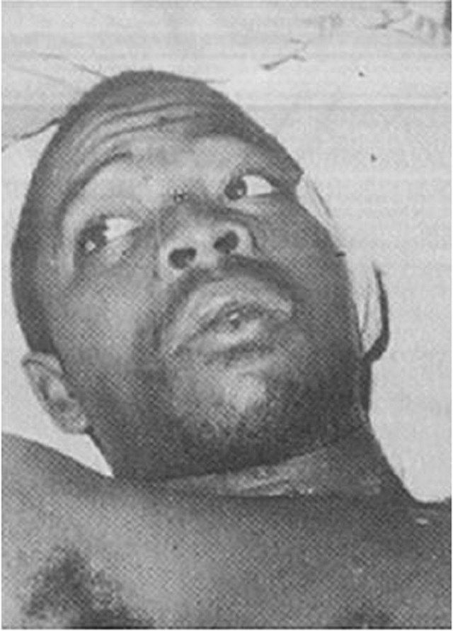 Photo of Lawrence Anini: A brutal Arm robber