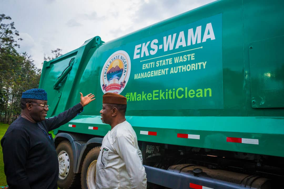 Photo of Waste Management: Ekiti procures multi-million naira compactor trucks . …To commence house to house waste collection