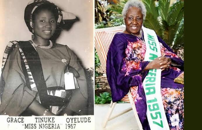 Photo of First Miss Nigeria Grace Oyelude Celebrates 87th Birthday