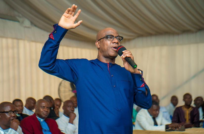 Photo of NOT RESPONDING TO OPPONENTS' ATTACKS GAVE US VICTORY – GOV. ABIODUN