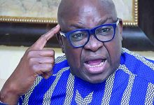 Photo of If I become President, i Will Send Obasanjo back to Prison — Fayose