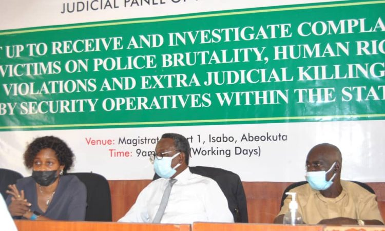 #EndSARS: Ogun panel treated 58 petitions, set to submit report